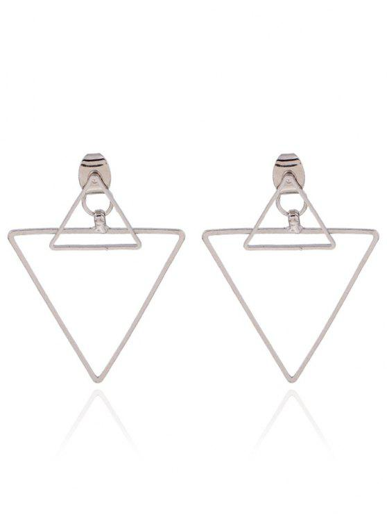 Incavate Giacche Ear Triangle - Argento