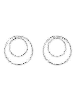 Minimaliste design circles de  Boucles d'oreilles
