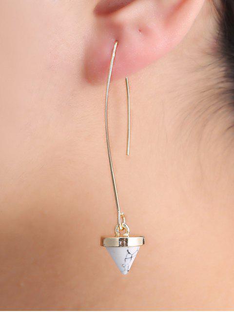 chic Faux Rammel Geometric Earrings -   Mobile