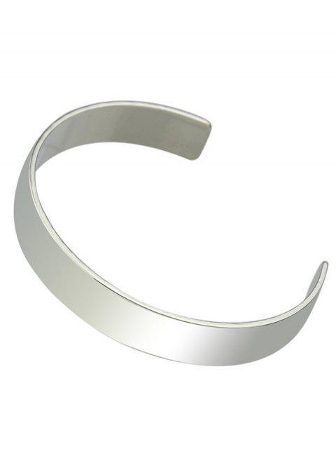 fashion Polished Cuff Bracelet -   Mobile