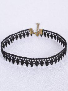 Leaf Choker - Black