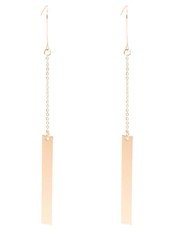 online Bar Drop Earrings - GOLDEN