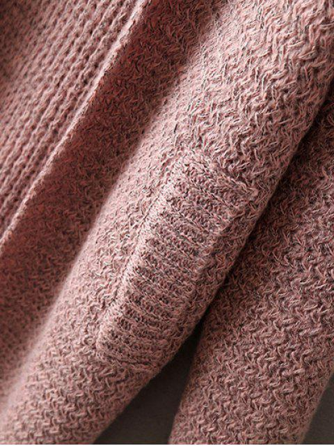 trendy Pockets Cardigan - PINK ONE SIZE Mobile