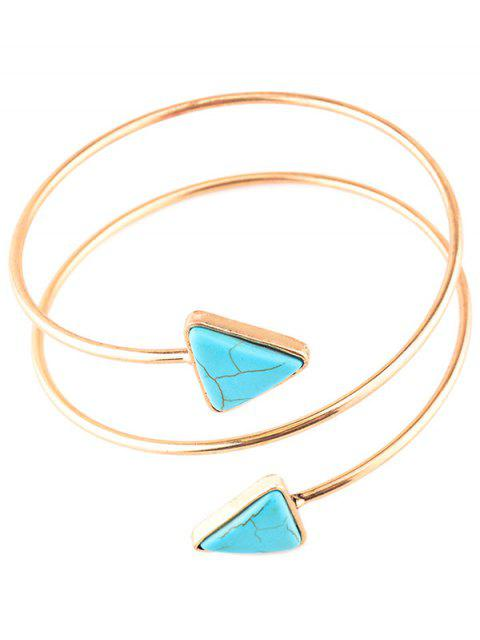 chic Artificial Turquoise Body Chain -   Mobile