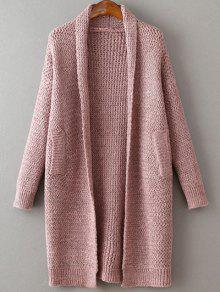Pockets Cardigan - Pink