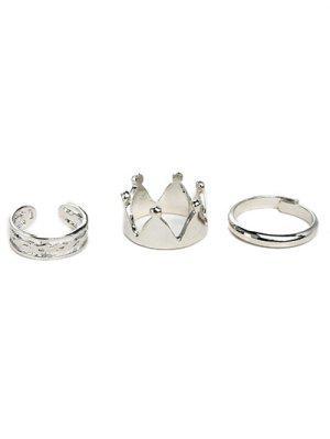 Kronen-Ring-Set