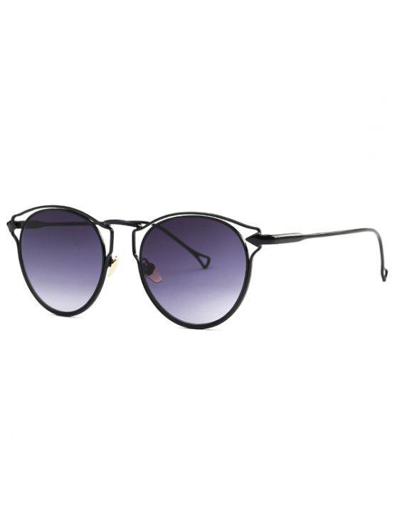 La flecha negra gafas de sol del ojo de gato - Negro