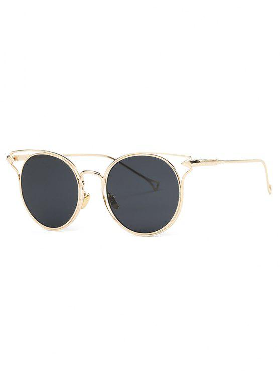 outfit Golden Arrow Cat Eye Sunglasses - GOLDEN