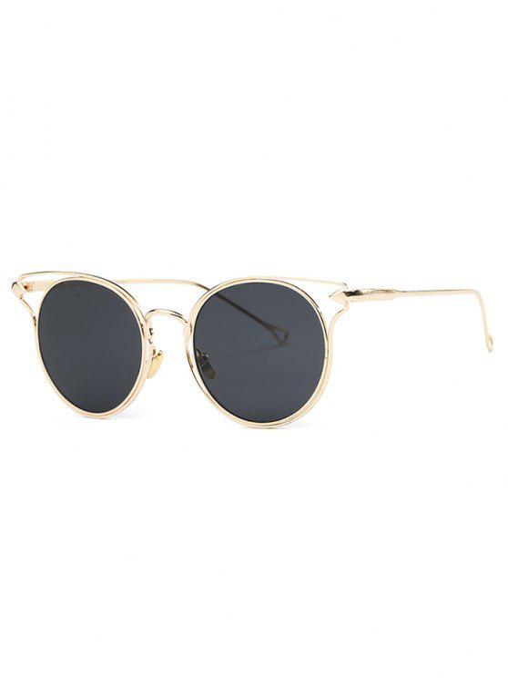 Golden Arrow gafas de sol del ojo de gato - Dorado