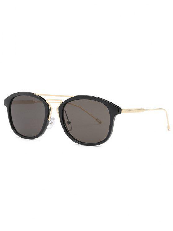 La geometría del puente de la nariz gafas de sol negras - Negro