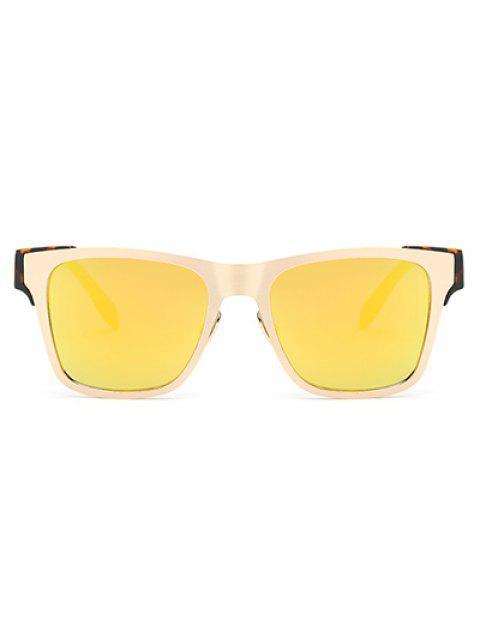 outfit Leopard Leg Mirrored Wayfarer Sunglasses -   Mobile