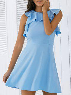 VOLANT A Dress Ligne - Bleu S