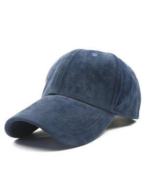 Ajustable de la hebilla del ante del Faux del sombrero de béisbol