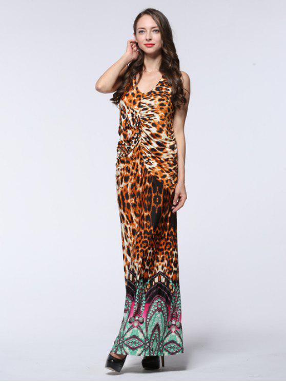 فستان ماكسي بلا أكمام - فهد 4XL
