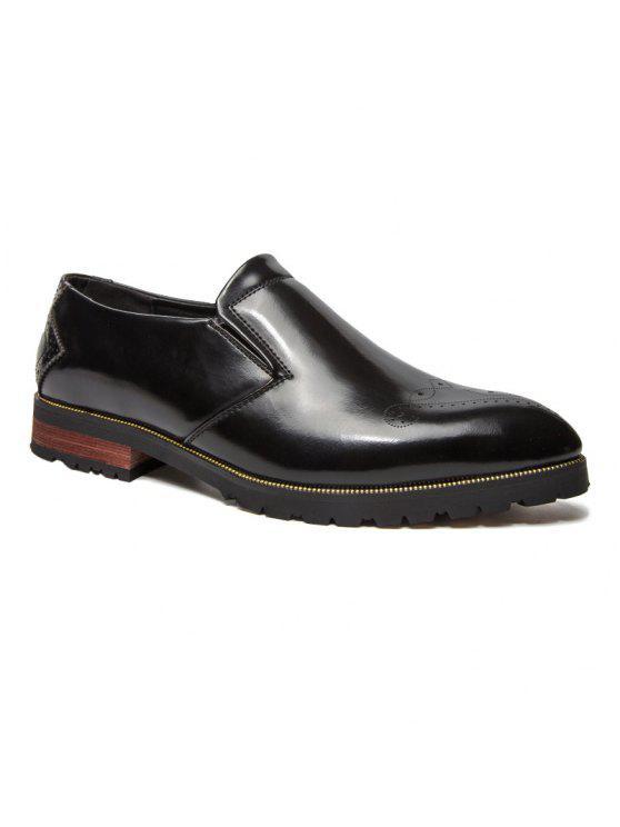 التدرج اللون أحذية رسمية - أسود 42