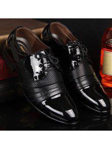 الجوف خارج الدانتيل حتى الأحذية الرسمية - أسود 44