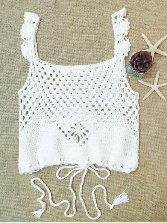 Camisa corta de múltiples vías - Blanco Un tamaño(Montar tam