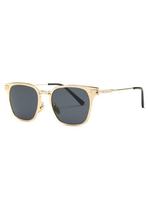online Full-Rim Butterfly Sunglasses - GOLDEN  Mobile