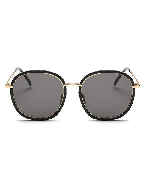 chic Double Frame Oversized Sunglasses -   Mobile
