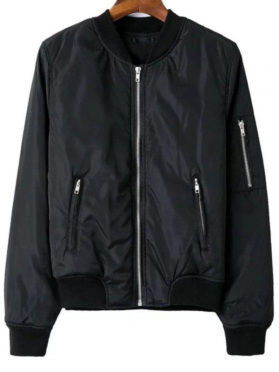 Zip Pocket Sport Jacket - Noir L