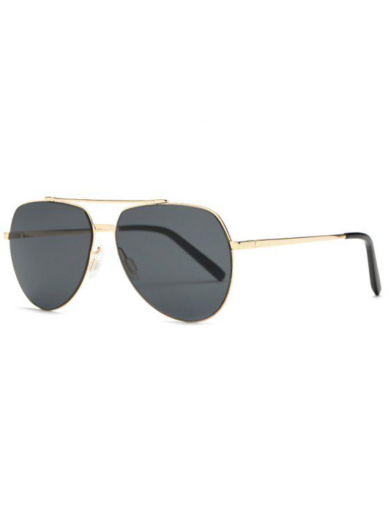 outfits Lightweight Pilot Sunglasses - GOLDEN