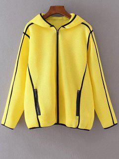 Mesh Jacket - Yellow M