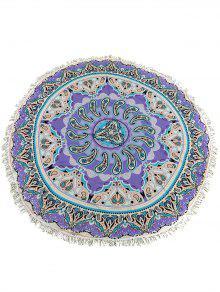 شال البوهيمي هامشي دائرة العرقية طباعة  - أرجواني
