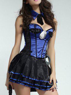 Uniform Temptation Dancing Wear - Blue M