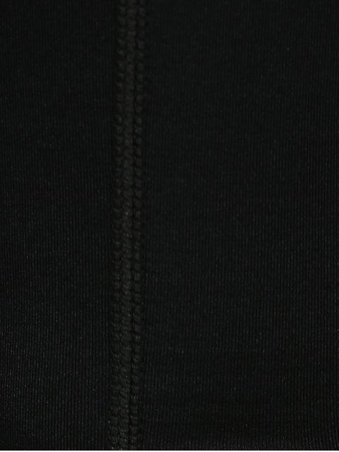 Pantalon de Sport à bandes - Noir L Mobile