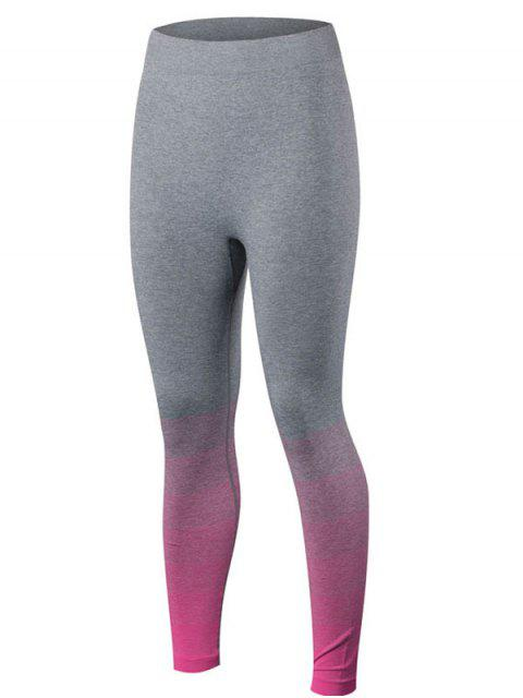 outfits Gradient Color Sport Running Leggings -   Mobile