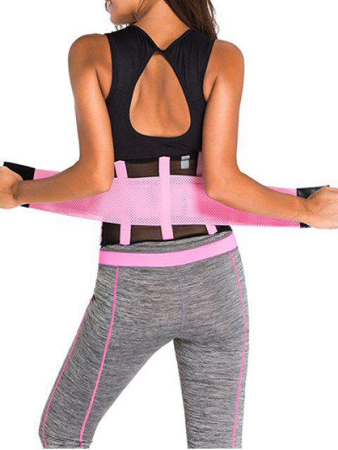 outfit Hook and Loop Waist Trainer Corset -   Mobile