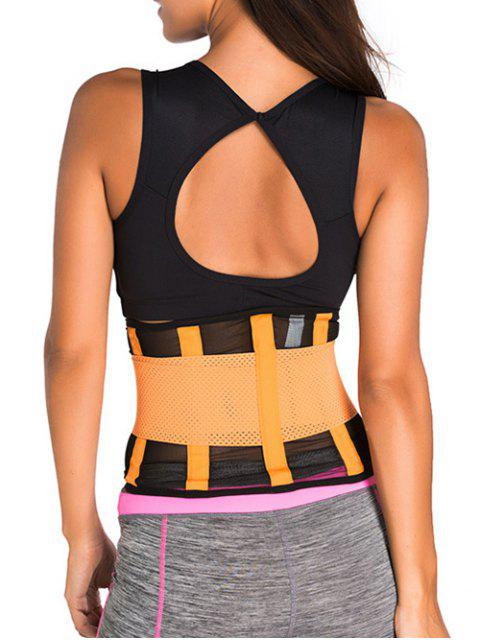 sale Hook and Loop Waist Trainer Corset -   Mobile