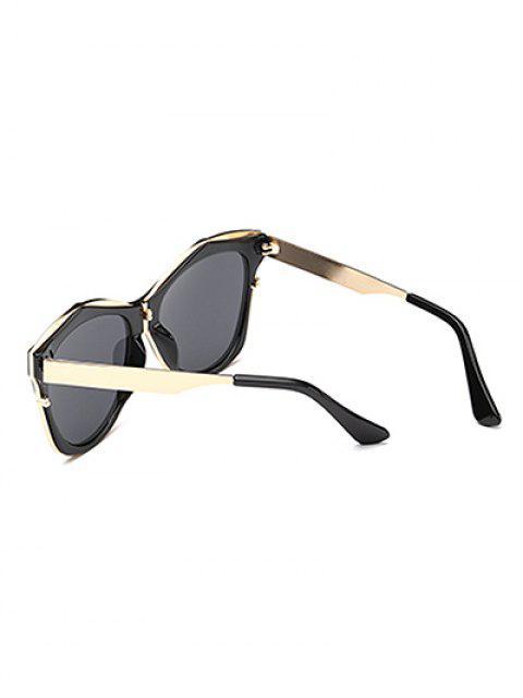 best Double Rims Irregular Sunglasses -   Mobile