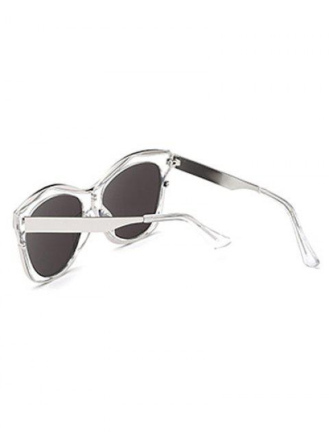 new Double Rims Mirrored Irregular Sunglasses -   Mobile