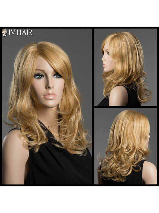 توهيدد الجانب فراق موجة سيف الشعر طويل كابليس شعر مستعار الإنسان - ذهبي