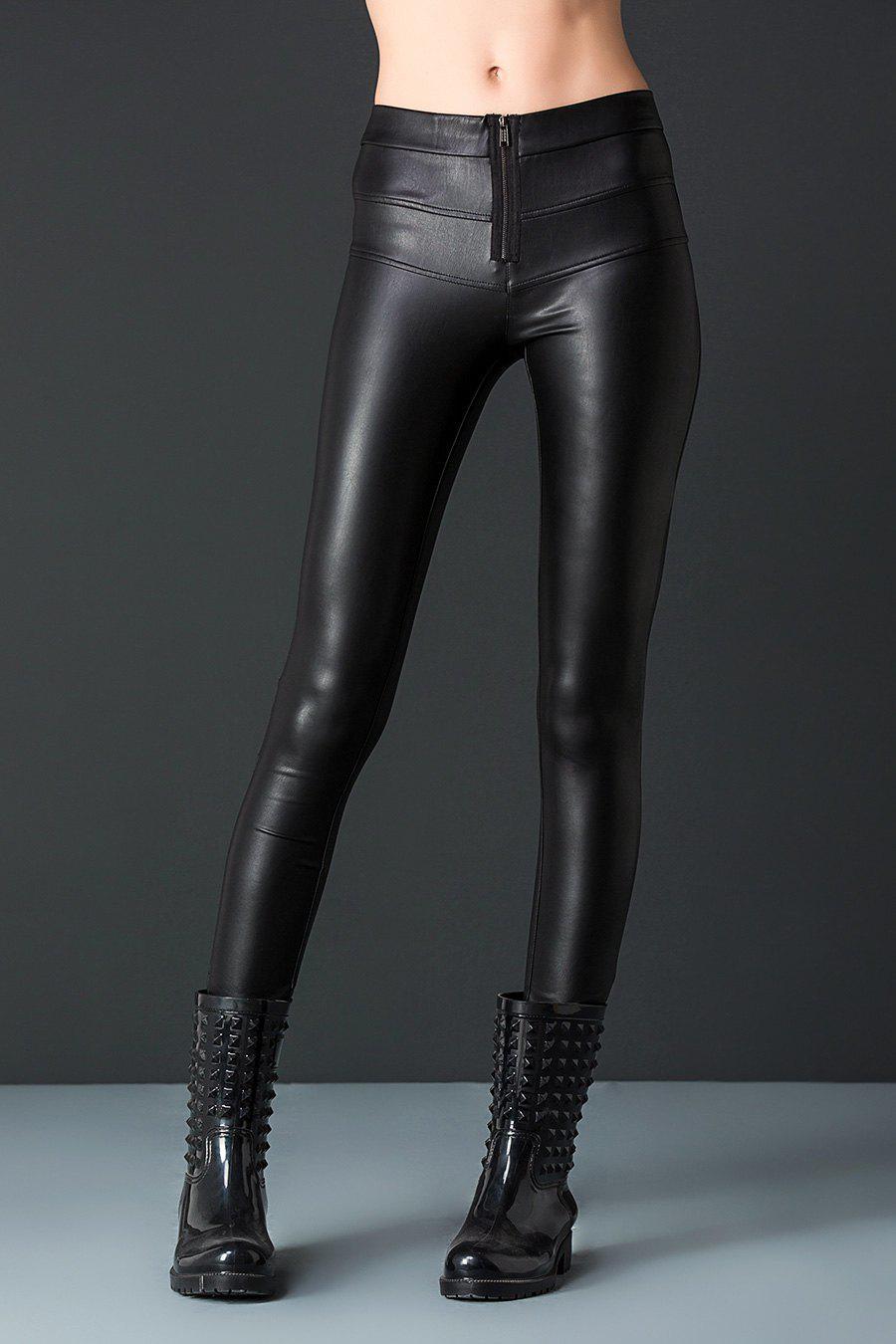 Pantalons en cuir