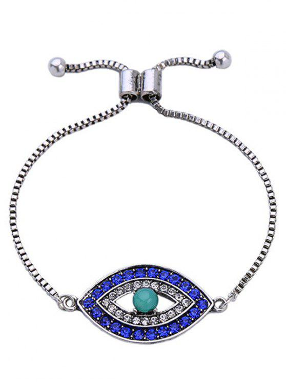 shop Rhinestone Eye Bracelet - COLORMIX