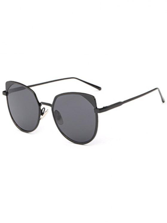 ladies Cat Eye Sunglasses - BLACK
