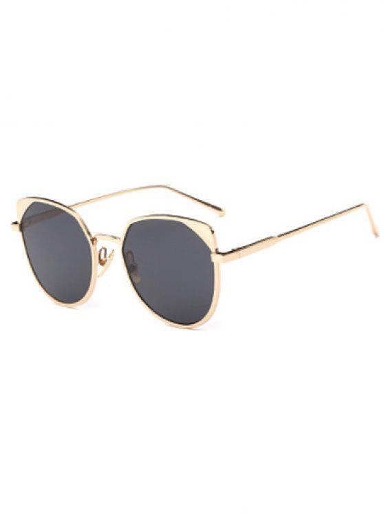 lady Cat Eye Sunglasses - GOLDEN
