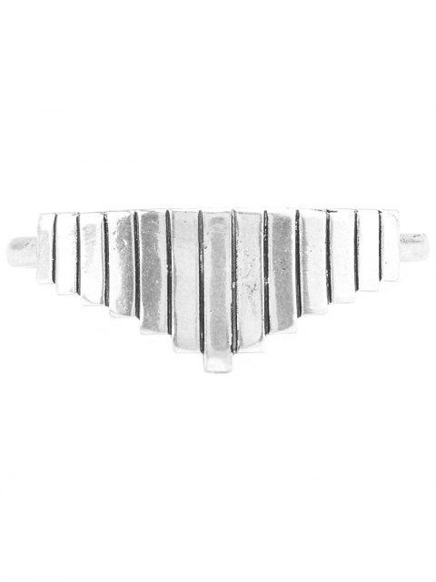 affordable Vintage Geometric Alloy Cuff Bracelet -   Mobile