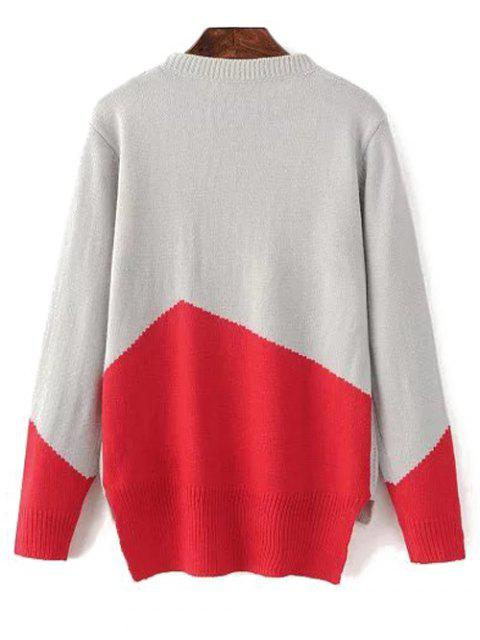 High Color Low Bloquer Sweater - Gris TAILLE MOYENNE Mobile