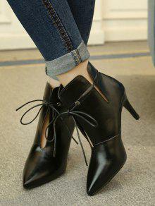f08a0e8f36181 ... ربط المدببة أحذية كعب القدمين الخنجر ...