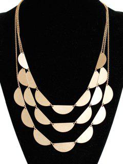 Layered Sweater Chain - Golden