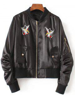 Embroidered Jacket - Black S