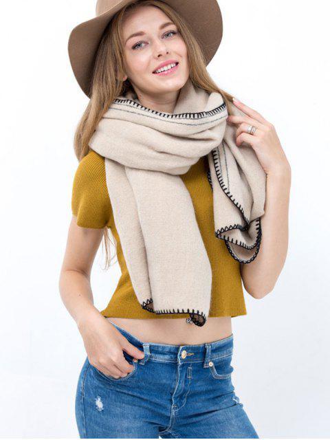 Hemming longue écharpe - Blanc Cassé  Mobile