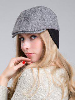Wavy Stripe Ivy Hat - Black