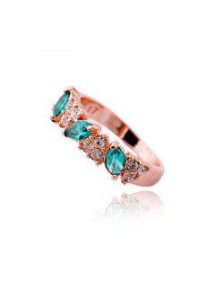 Rhinestone Ring - Rose Gold One-size