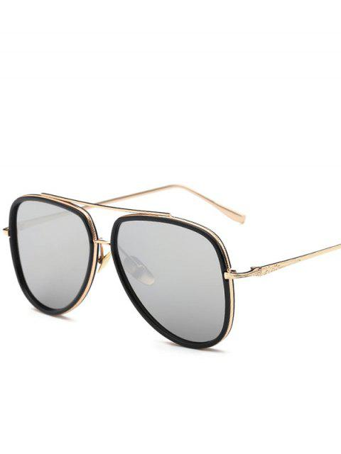 sale Mirrored Pilot Sunglasses -   Mobile