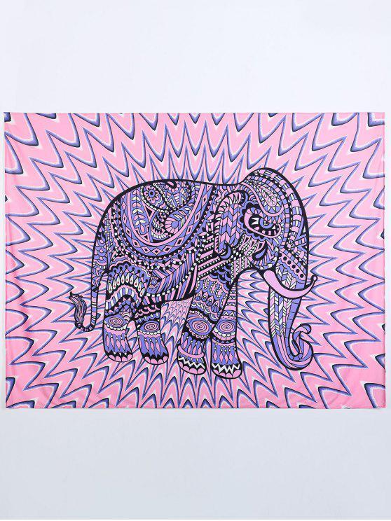 Elepant Serviette de plage - Ros et Violet L
