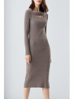 Robe Bodycon - Camel